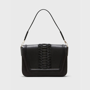 YLIANA YEPEZ bags Eugenia clutch braided black