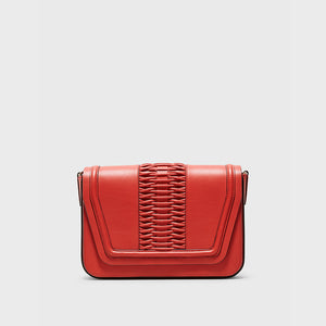 YLIANA YEPEZ handbags Eugenia clutch braided red