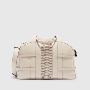 YLIANA YEPEZ handbags francesca satchel braided chalk