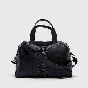 YLIANA YEPEZ handbags francesca satchel braided black
