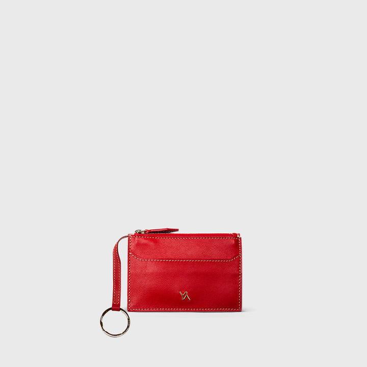 YLIANA YEPEZ handbags key holder small leather goods coral