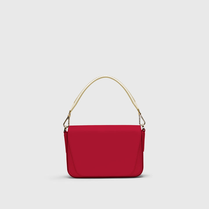 Mini Eugenia infinito red clutch