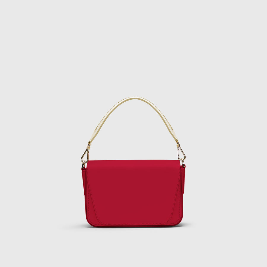 Mini Eugenia infinito red crossbody