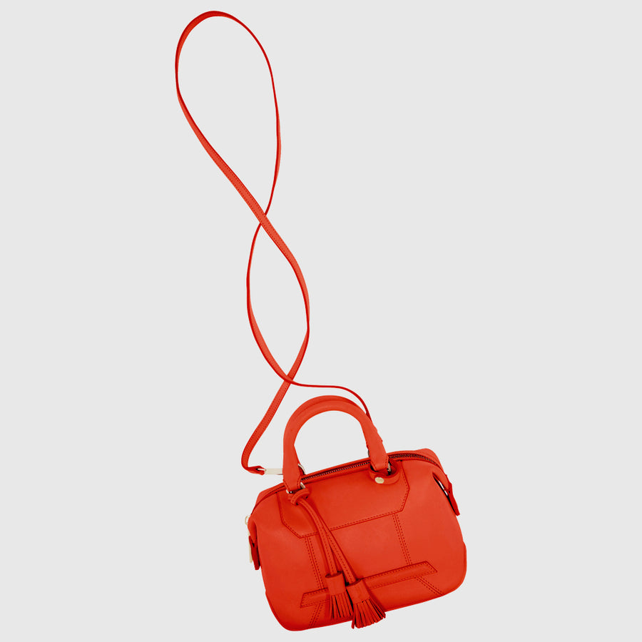 YLIANA YEPEZ handbags mini monte carlo satchel orange
