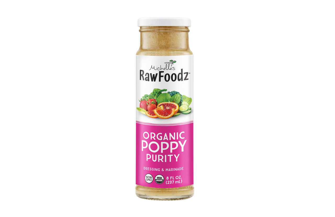 Organic Poppy Purity Dressing & Marinade