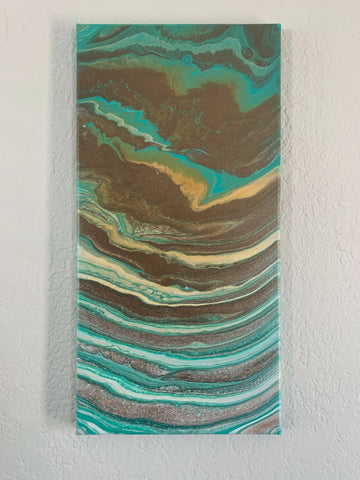"Canvas Art Painting ""Beach Waves"" - Ashley Lisl Art"