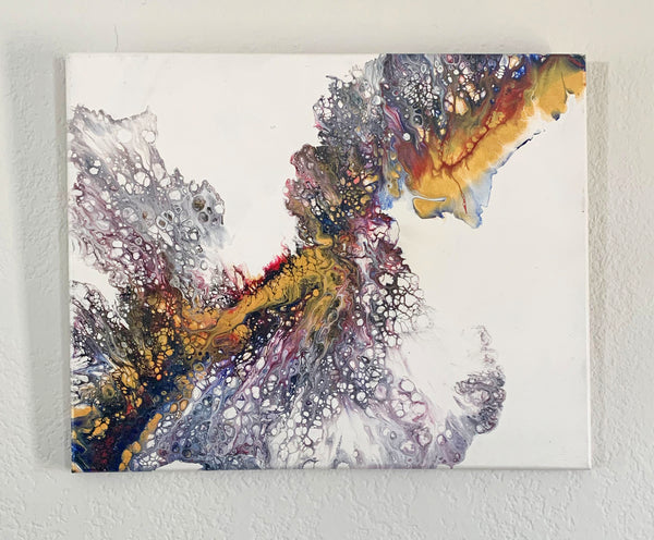 "Canvas Painting ""Fusion"" - Ashley Lisl Art"