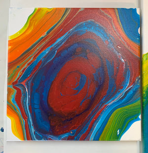 "Canvas Art Painting ""Love Is Love Baby"" - Ashley Lisl Art"