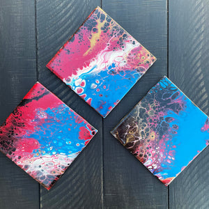 Coaster Set - Abstract - Ashley Lisl Art