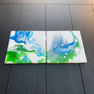 Coaster Set - Earth & Water