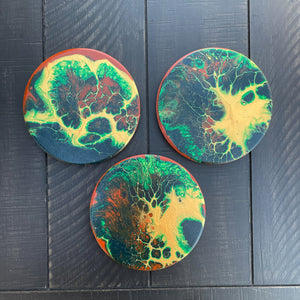 Coaster Set - Earth from Space