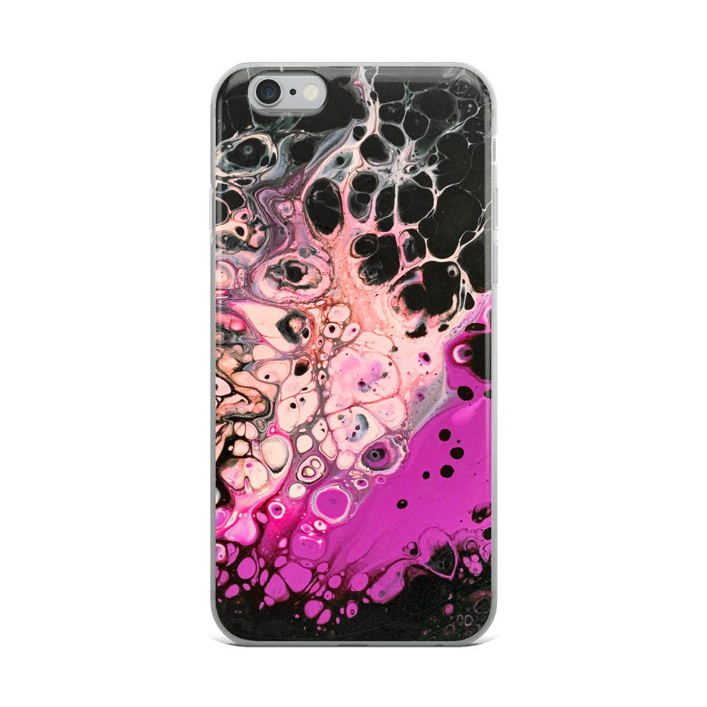 "iPhone Case - ""Black Flamingo"""