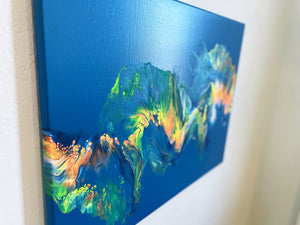 "Canvas Painting ""Seahorse"""