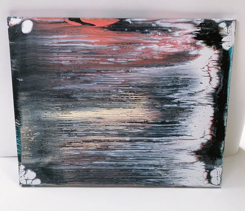 "Canvas Painting ""Wiped"""