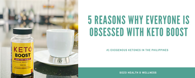 5 Reasons why everyone is obsessed with Keto Boost