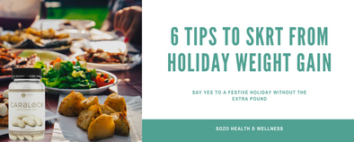 6 Tips to Skrt from Holiday Weight Gain