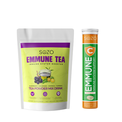Immune Booster Bundle - Emmune Tea & Emmune C Effervescent Tablets