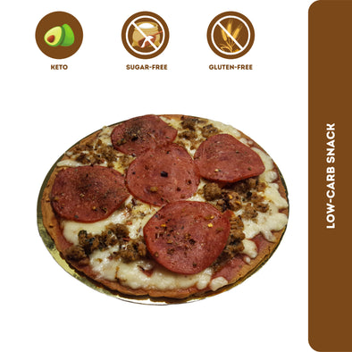 Fitness & Flavors | Low-carb Pizza - Italian Sausage & Pepperoni