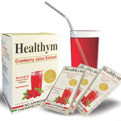 Healthym Cranberry Juice Extract - 500mg - Sozo  Sales