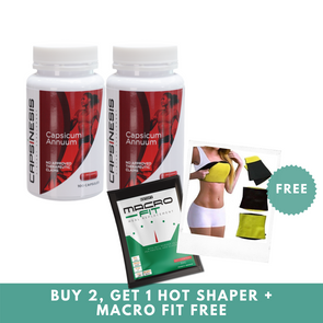 Capsinesis with FREE Macro Fit & Hot Shaper - Sozo  Sales