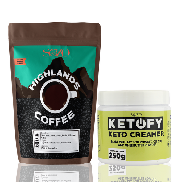 Keto Coffee - Highlands + Keto Creamer