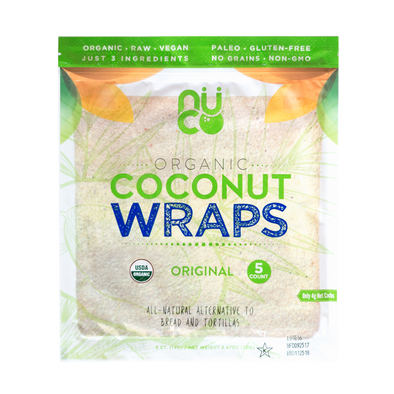 NUCO Organic Coconut Wraps - 12 Packs - Sozo  Sales