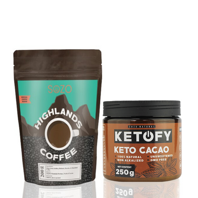 Meal Replacement (Coffee & Keto Cacao) - Sozo  Sales