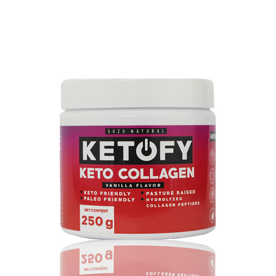 Ketofy Keto Collagen 250g - Sozo  Sales