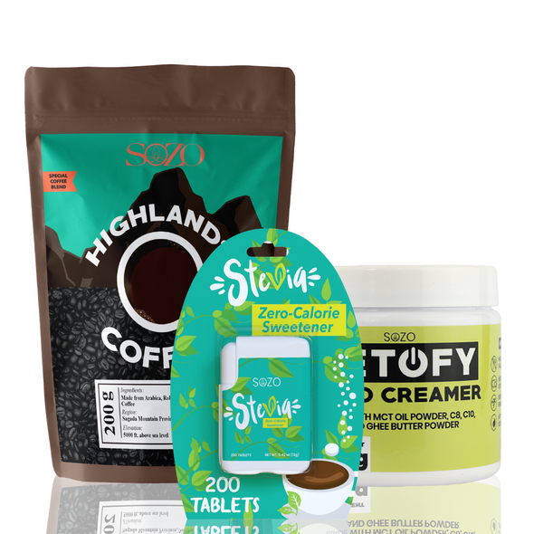 Butter Coffee Bundle - Creamiest Bulletproof Coffee