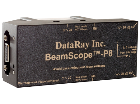 BeamScope-P8 – Scanning Slit Beam Profiler System