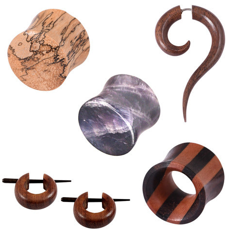 Natural Stone and Organics: Wood, Horn, Bone