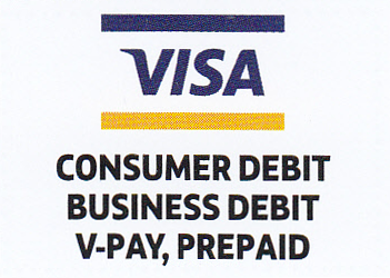 visa consumer debit, business debit, v-pay, prepaid