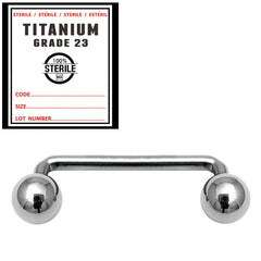 view all Sterile Titanium Surface Barbell body jewellery