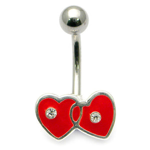 Belly Bar - Entwined Heart