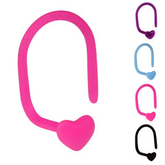 view all Bioflex Heart Nose Stud body jewellery