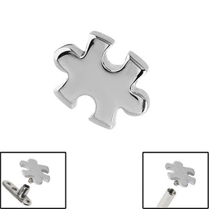 Steel Jigsaw for Internal Thread shafts in 1.6mm (1.2mm). Also fits Dermal Anchor