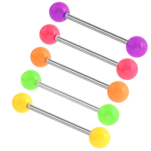Acrylic Neon Barbell 1.6mm