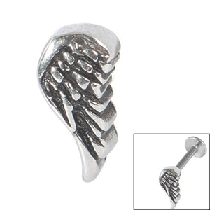 Steel Threaded Attachment - 1.2mm and 1.6mm Cast Steel Angel Wing