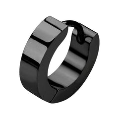view all Black Steel Huggie Helix Clicker Ring body jewellery