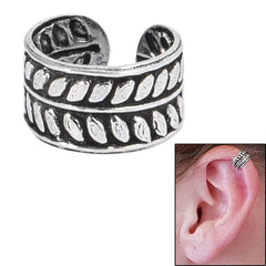 view all 925 Sterling Silver Clip On Ear Cuff - Leaves SEC2 body jewellery