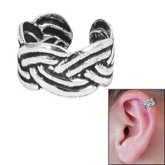 view all 925 Sterling Silver Clip On Ear Cuff - Sailors Knot SEC4 body jewellery