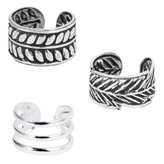 view all Multipacks - 925 Sterling Silver Ear Cuffs body jewellery
