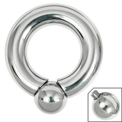 view all Titanium BCR with Screw-in Ball body jewellery