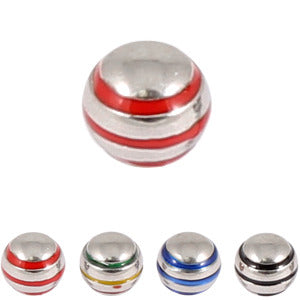 Steel Threaded Attachment - 1.2mm and 1.6mm Saturn Ball