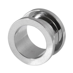 view all Steel Screw Flesh Tunnel body jewellery