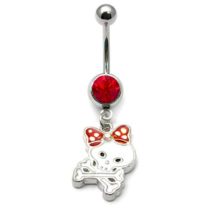 Belly Bar - Skull and Bow