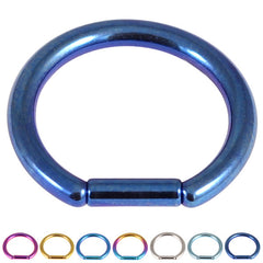 view all Titanium Bar Closure Ring body jewellery