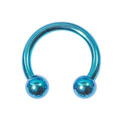 view all Titanium Circular Barbells (CBB) (Horseshoes) 1.2mm body jewellery