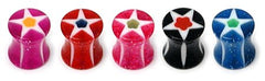 view all Acrylic Glitter Star Plug body jewellery