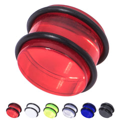 view all Acrylic Plug 12-24mm body jewellery